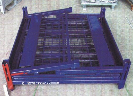 钢制折叠式周转箱